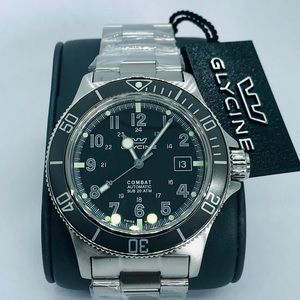 Brand new Glycine Swiss made diver watch